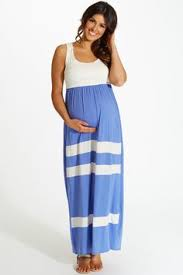 light blue and white striped maxi dress maternity clothes for the modern mother pinkblush maternity baby
