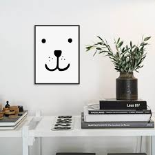 nordic home aliexpress com buy modern nordic home decor kawaii bear face