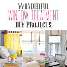 Sewing Window Treatmentscom - wonderful window treatment diy projects the cottage market