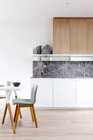 Kitchen Marble Backsplash Cabinets U0026 Drawer Kitchen Scandinavian Style Marble Backsplash