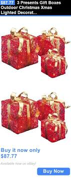 Present Decoration 45 Best Lighted Boxes Images On Gift Boxes