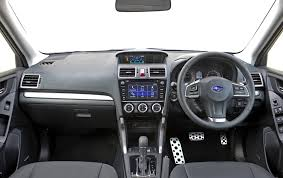 subaru suv concept interior subaru forester gets new engine gearbox duo and revised interior
