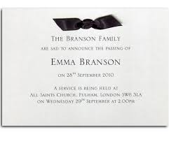funeral invitation template free burial announcement sle 24 funeral invitation templates free