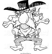 royalty free stock western designs of printable coloring pages
