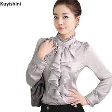 blouse ruffles aliexpress com buy plus size 2xl xl 3xl ruffled s blouse