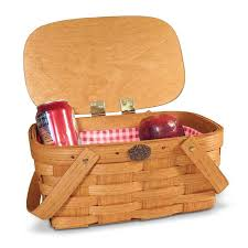 kids picnic basket kids picnic lunch basket peterboro woven wooden school basket