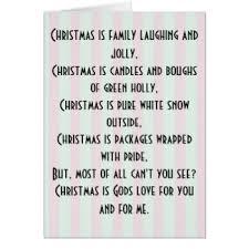 merry christmas poem cards u0026 invitations zazzle co nz