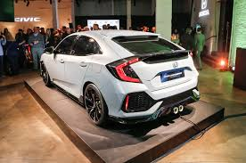 2017 honda civic hatchback prototype revealed in new york
