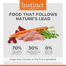 instinct by nature u0027s variety original grain free recipe with real