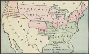 1820 Map Of United States by File Map Of Areas Of Freedom And Slavery In 1820 A D 001 Jpg