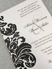 damask wedding invitations damask wedding invitations ebay