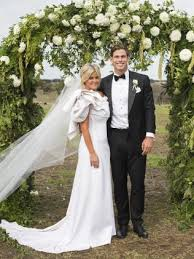 wedding arches geelong geelong cats tom hawkins ties the knot with clapham