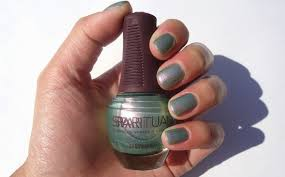 beauty kitten sparitual nail lacquer in sea glass review u0026 swatch