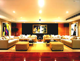 Best Home Interiors Living Room Ideas Indian Flats New Wall Showcase Designs For Style