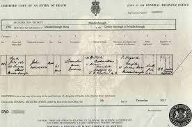 hogarth hoggarth hoggard and hoggart family death certificates