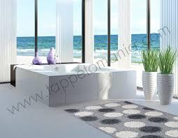 tappeti offerta on line tappeto per il bagno grigio
