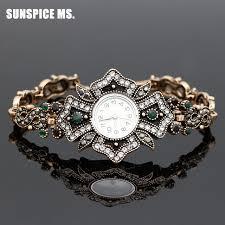 antique jewelry bracelet images Brand turkish bracelet watches antique jewelry gold color women jpg