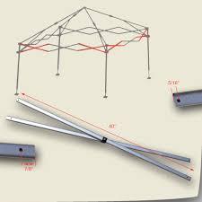 Quik Shade Summit 10x10 Instant Canopy by Quik Shade Weekender Elite 10 U0027 X 10 U0027 Canopy Side Truss Bars