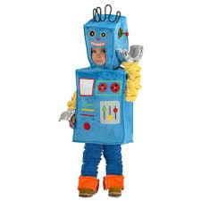boys racket the robot halloween costume child size 4 toys