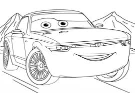 bob sterling cars 3 coloring free printable coloring pages