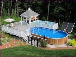 Small Backyard Above Ground Pool Ideas Diy Above Ground Pool Fence Interior Design