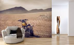 murals motorcycles to size of wall myloview com go to the product vintage motorcycle mural