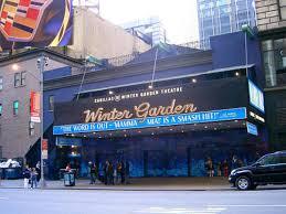 The Winter Garden Theater - winter garden theatre theater in midtown west new york