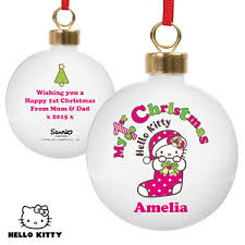 Baby S First Christmas Bauble Wholesale by Personalised U0027baby U0027s First Christmas U0027 Tree Bauble 1st Xmas