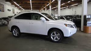 2010 white lexus rx 350 for sale 2010 lexus rx350 starfire pearl white stock 079273 walk