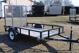 Aluminum Landscape Trailer by Open Trailers For Sale Quality Trailers Econoline Trailers