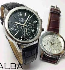 Jual Jam Tangan Alba jual jam tangan alba chronograph aktif leather jam tangan murah
