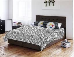 pittsburgh steelers bedroom set home