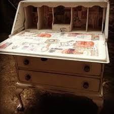 Shabby Chic Writing Desk by Dark Pepper With Bologna Bricks Ideas For The House Pinterest