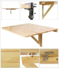 Wall Mounted Drop Leaf Folding Table Haotian Wall Mounted Drop Leaf Table Folding Dining