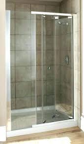 Shower Door Kits Kohler Shower Enclosure Minima Sliding Quadrant Enclosure Kohler