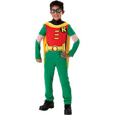 Raven Teen Titans Halloween Costume Amazon Teen Titans Child U0027s Robin Costume Small Toys U0026 Games