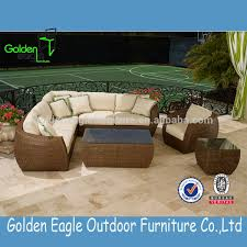 Noble House Outdoor Furniture by Noble House Furniture Rattan Sofa With Waterproof Cushion Buy