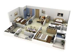 3d floor design impressive floor plans in 3d home design