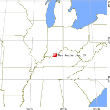 where is amsterdam on a map amsterdam indiana in 47142 profile population maps