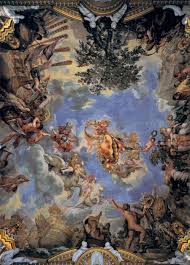 Ceiling Art Ceiling Fresco With Medici Coat Of Arms 1643 1644 Pietro Da
