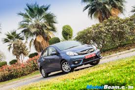 2016 honda amaze facelift review test drive motorbeam