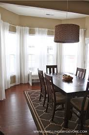 Curtain Hanging Hardware Decorating How To Hang Curtains In A Bay Window Using Inexpensive Ikea