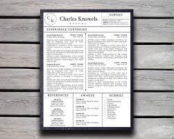 modern resume sles images modern resume template for ms word pro pinterest modern