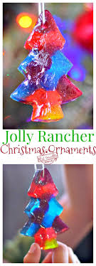 melted jolly rancher ornaments a craft