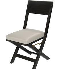 mufti metro folding dining chair