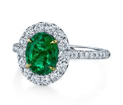 emerald engagement ring 30 engagement rings so sparkly you ll need sunglasses