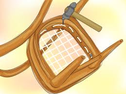 How To Fix Rocking Chair How To Riempie A Chair 11 Steps With Pictures Wikihow