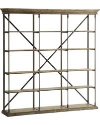 fall savings on christopher knight home metal and wood bookcase
