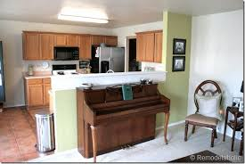 cheap kitchen decor ideas kitchen cheap room divider ideas half wall kitchen open half open