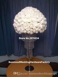 new arrival artificial silk centerpiece flower arrangements stand